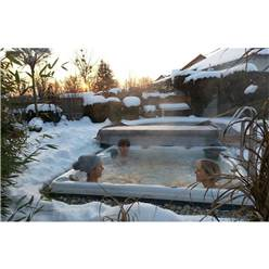 Winnipeg Plug and Play - 6 Person Hot Tub - 1.98m x 1.98m - Free Delivery and Install + Chemical Kit worth £120