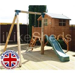 Tower Playhouse, Slide & Swing 5 x 7