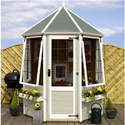 6 x 6 Deluxe Tongue and Groove Octagonal Summerhouse
